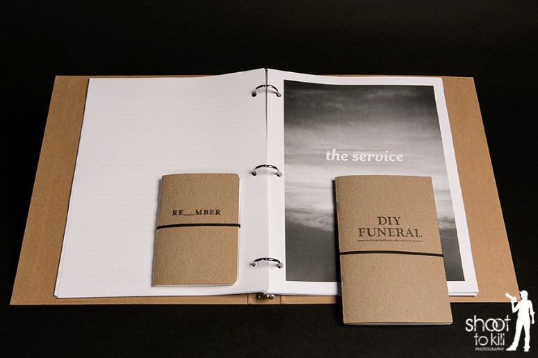 The entire Remember Me DIY funeral planning book.