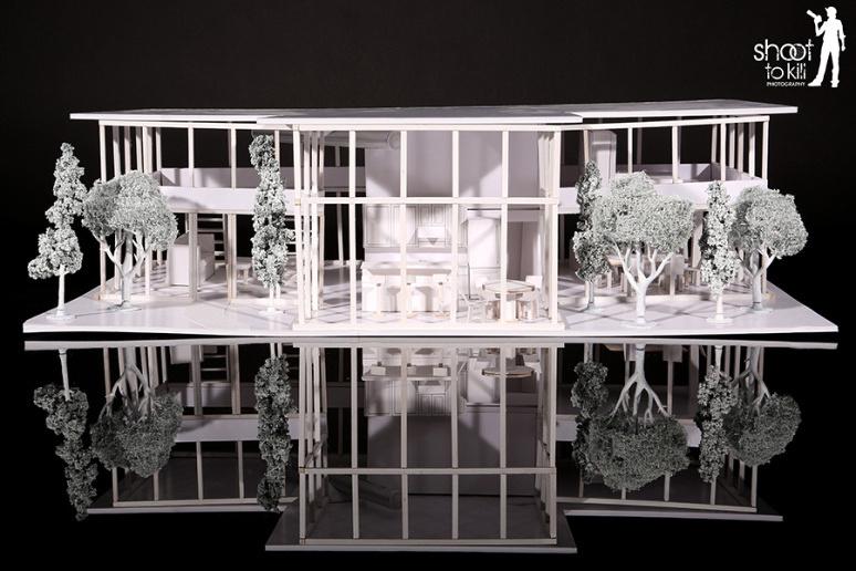 3D Lake House Model by Alyssa Jacobsen